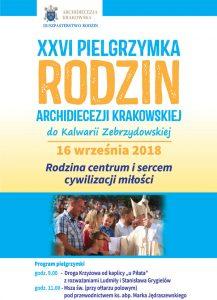 Pielgrzymka Rodzin Archidiecezji Krakowskiej do Kalwarii Zebrzydowskiej