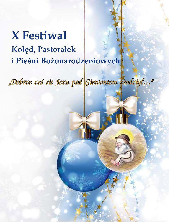 X Festiwal Kolęd, Pastorałek i Pieśni Bożonarodzeniowych