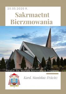 Sakrament Bierzmowania w parafii św. Michała Archanioła w Sieprawiu