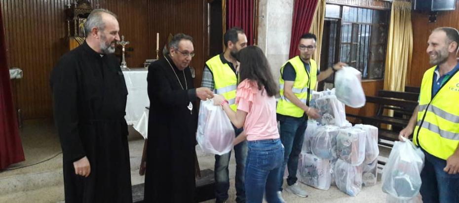 Sieroty z Homs dziękują Archidiecezji Krakowskiej